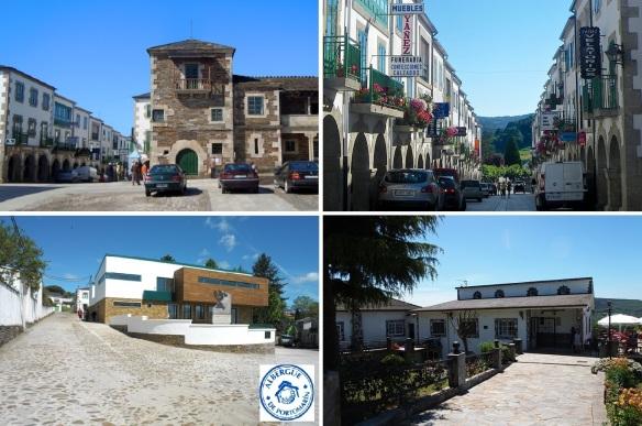 Streets of Portomarín