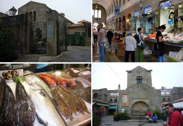 Mercado de abastos (food market) Santiago de Compostela
