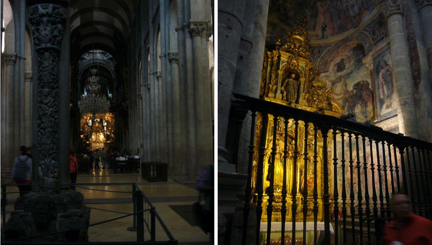 Cathedral of santiago de compostela weepingredorger - Interior santiago de compostela ...