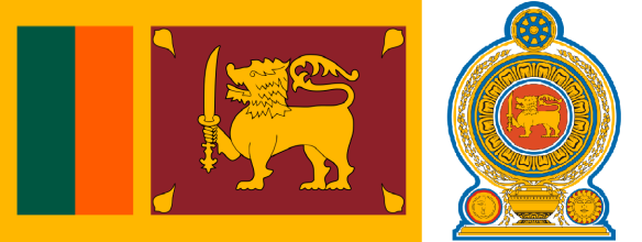 Flag and Emblem of Sri Lanka Capital: Sri Jayawardenepura Kotte (Administrative), Colombo  Official languages: Sinhala and Tamil Area: 65,610 km2, Population: 20,277,597 (2012 census)