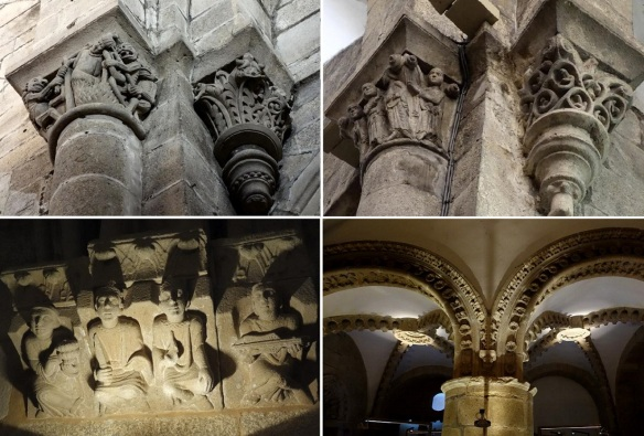 Capitals of the cathedral