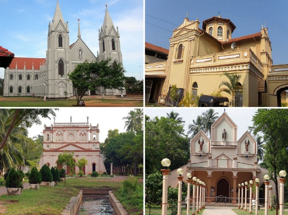 St. Sebastian Church, St. Peter Church, St. Joseph Church and Ulu Ambalama Church (Catholic Church)