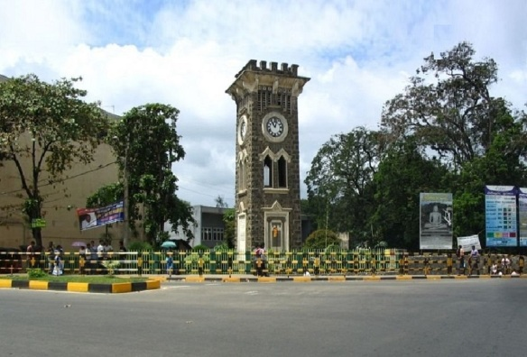 This is the famous clock tower.