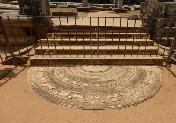 Moonstone of Mahasena's Palace