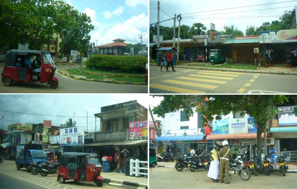 Photos on the way from Kurunegala to Anuradhapura, taken from running car.