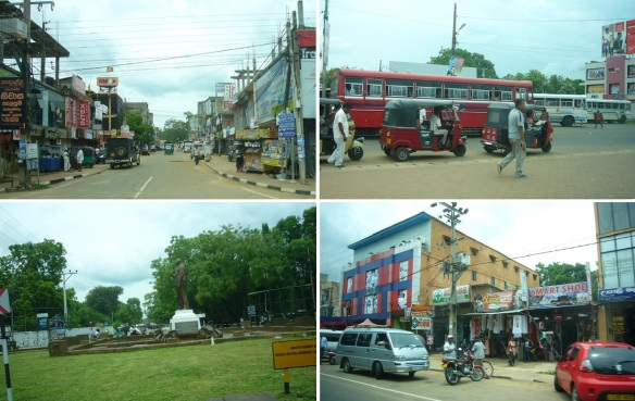 Getting in the city of Anuradhapura.