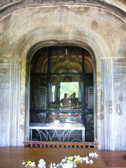 Altar of Isurumuniya Vihara