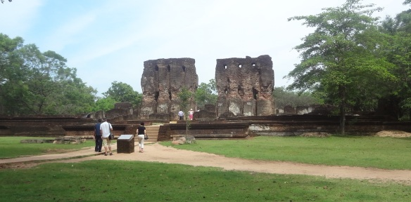 The ruins of Royal Palace, Polonnaruwa
