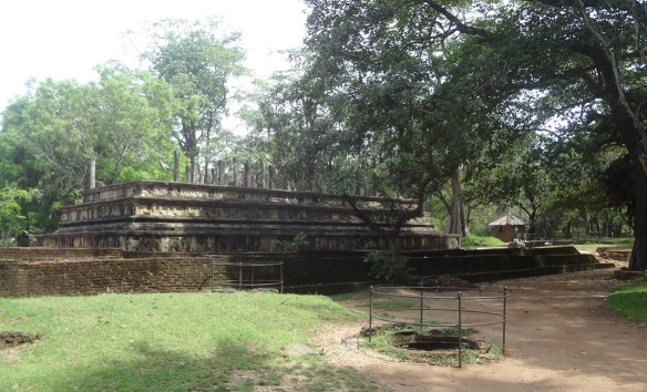 Council Chamber remains of Polonnaruwa