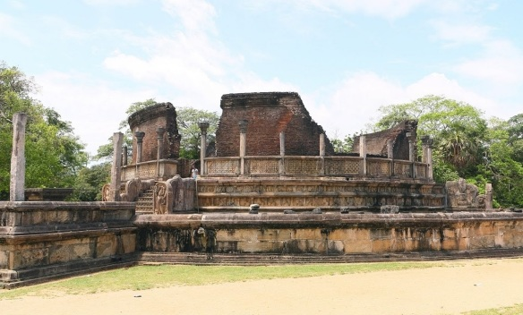 Vatadage Quadrangle Polonnaruwa