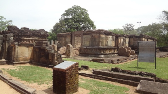 Hatadage, the first temple enshrined the Buddha tooth