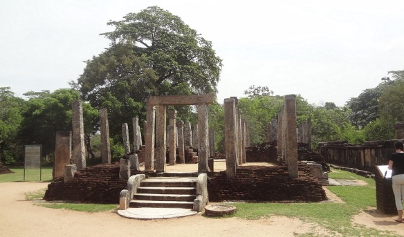 Atadage Quadrangle Polonnaruwa