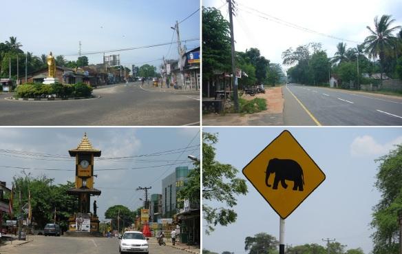 City views, from Polonnaruwa to Sigiriya.
