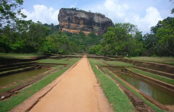 The Sigiriya Rock