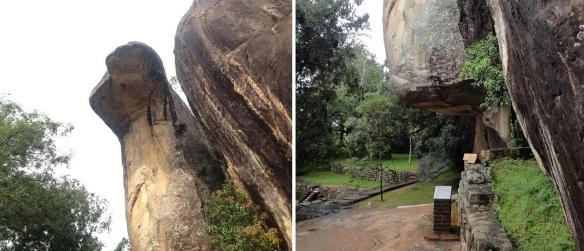 Cobra Hood Cave in the Boulder Gardens Sigiriya