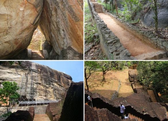 From the Boulder Gardens to the Terrace Gardens of Sigiriya