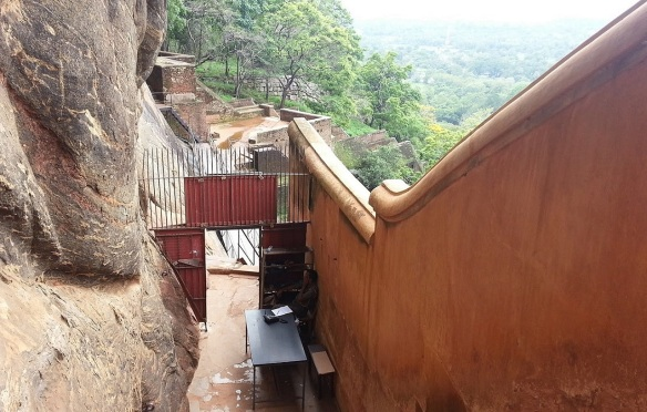 Mirror Wall of Sigiriya