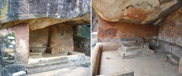Asana Cave in the Boulder Gardens Sigiriya