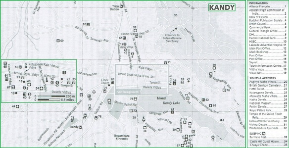 Kandy City Map