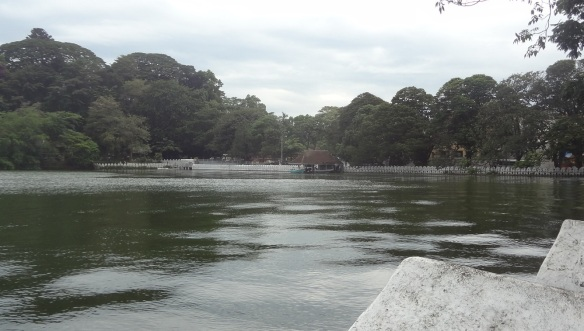 Kandy Lake is a lake in the heart of the hill city of Kandy.