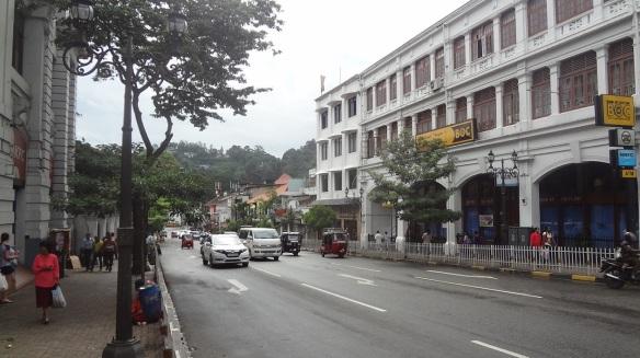 Main Street of Kandy City