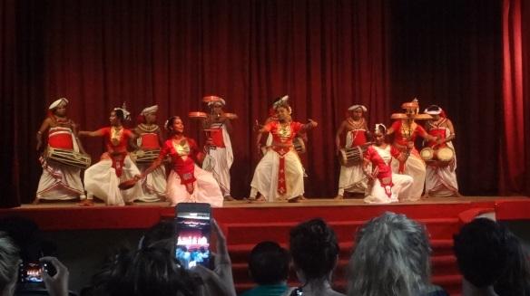 Kandyan dance opened.