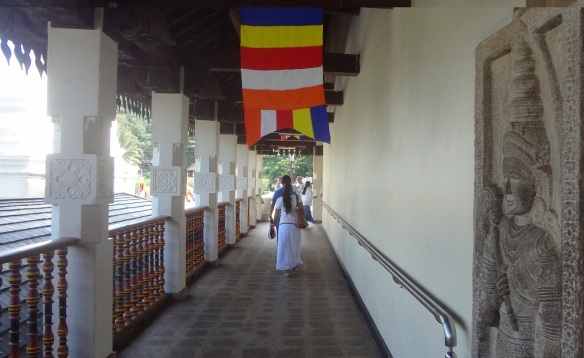 Cloister in the Temple of the Tooth Relic