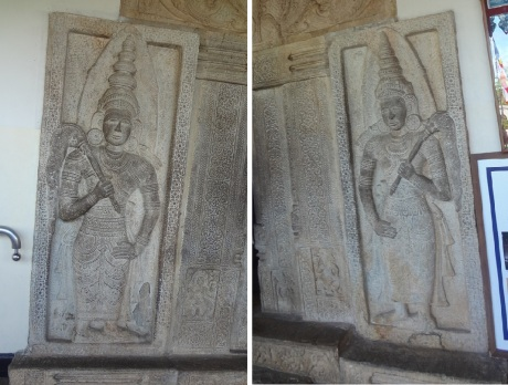 Reliefs of the wall