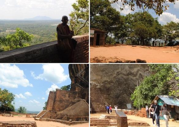 The Lion's Paw Terrace of Sigiriya Rock