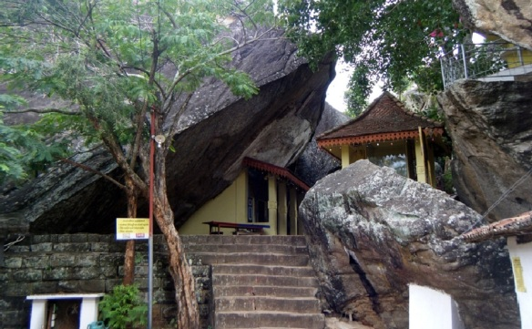 Aluvihāra Rock Temple