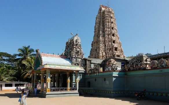 Really colorful Hindu Temple