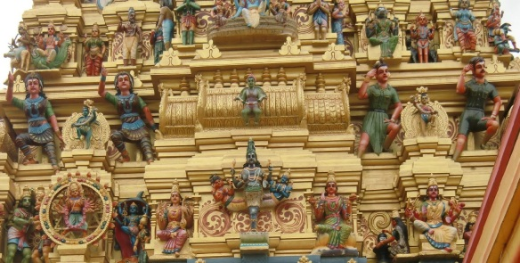 Hindu Gods of the Sri Muthumariamman Temple Matale.