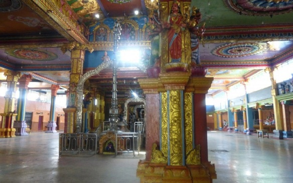 Interior of Sri Muthumariamman Temple