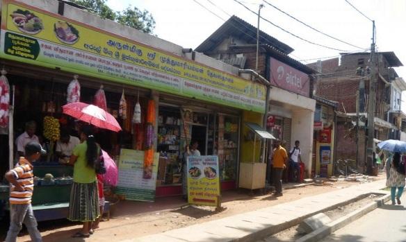 A street near Sri Muthumariamman Temple