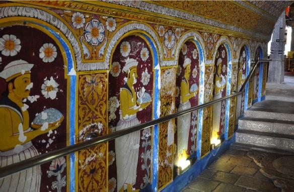 Mural paintings of the corridor.