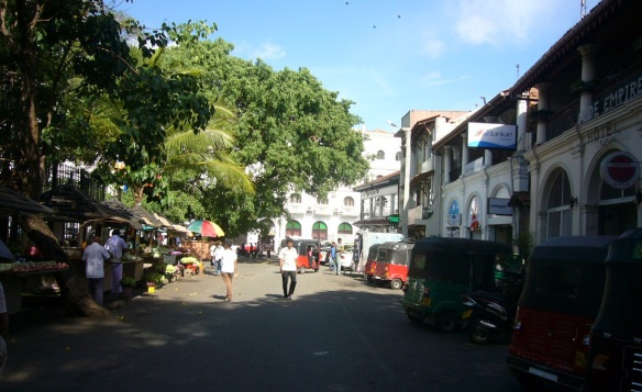 Left the town of Kandy for the next destination Pinnawala.