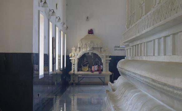 Altar of Shri Bhakta Hanuman Temple