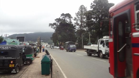Nuwara Eliya Main Bus Stop.