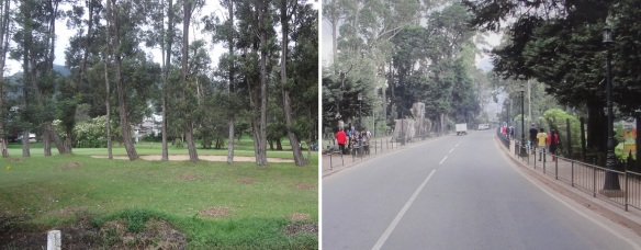 Nuwara Eliya Golf Club and Highway A5