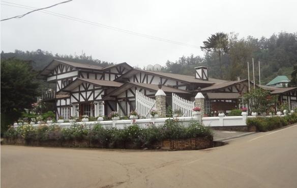 Glendower Hotel Grand on the Hotel Road Nuwara Eliya