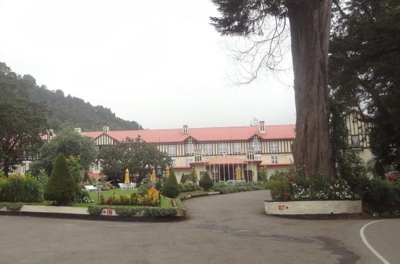 The Grand Hotel Nuwara Eliya.