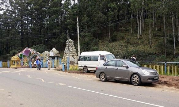 Hanuman Temple in Nuwara Eliya