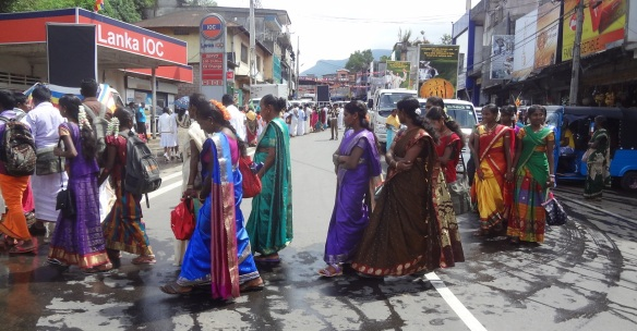 Women wearing traditional costume.