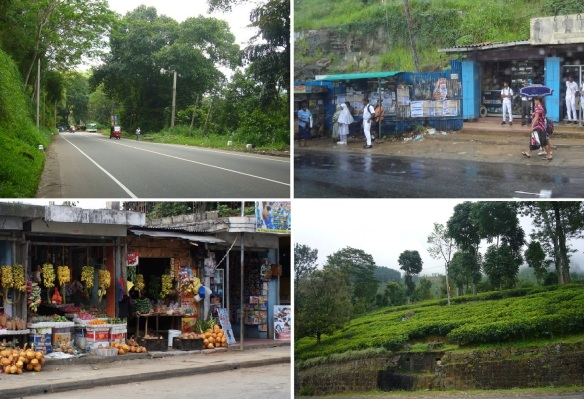 Photos on the way toward Nuwara Eliya.