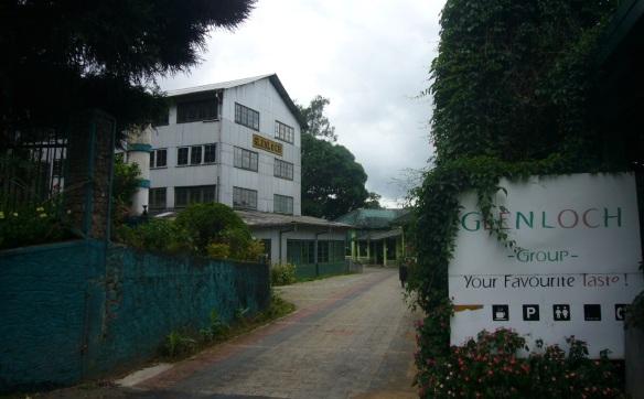 Glenloch (Glen Loch) Tea Factory Sri Lanka
