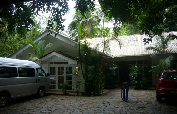 Kitulgala Rest House; I had a lunch at the restaurant.
