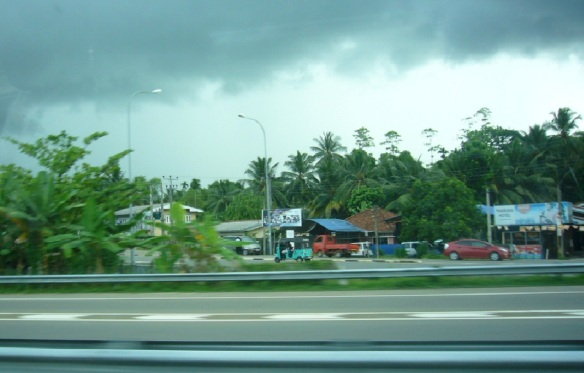 Scenery of Motorway E01