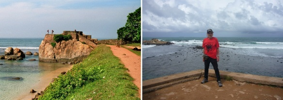 The Flagrock Bastion of Galle Fort