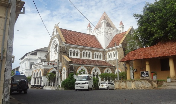 All Saints' Church in Galle Fort