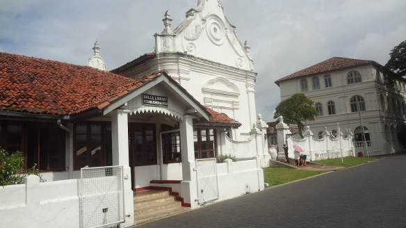 Galle Library Established in 1832 and Dutch Church